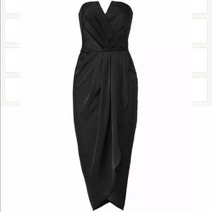Yumi Kim Black Sweetheart Dress. 100% Silk